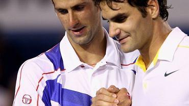 Półfinał Australian Open: Roger Federer, Novak Djoković