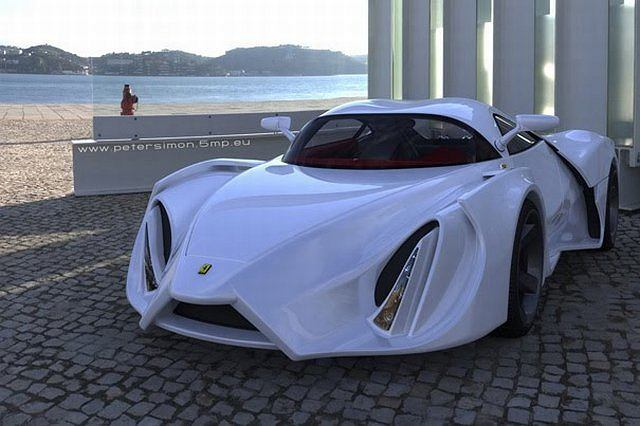 Ferrari Enzo pomysłu Petera Simona