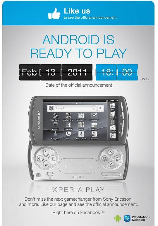 XPERIA Play - oficjalna prezentacja już za tydzień