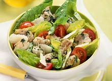 Sałatka Cezar z kurczakiem i pomidorkami - ugotuj