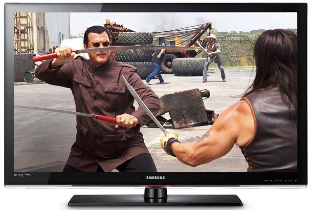 test telewizorów, telewizory lcd, Samsung