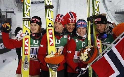 Reprezentacja Norwegii w 2011 roku