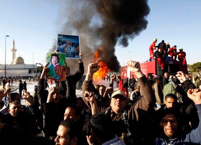 Zamieszki w Trypolisie