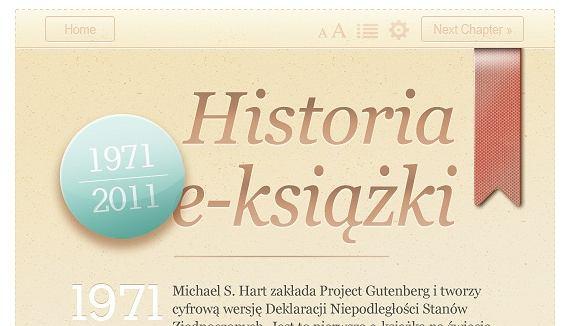 Historia e-książki wg Password Incorrect