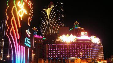 Główna ulica kasyn w Makau