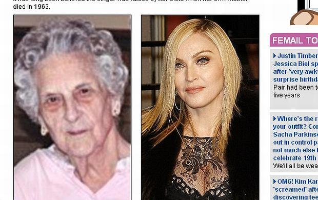 Madonna, Elsie Mae Fortin