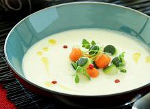 Zupa selerowa z perełkami warzywnymi - ugotuj