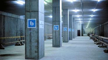 Stacja na lotnisku Okęcie jeszcze w budowie