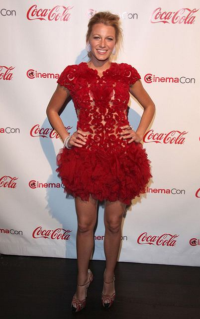 Blake Lively na rozdaniu nagród CinemaCon - 31.03.11.