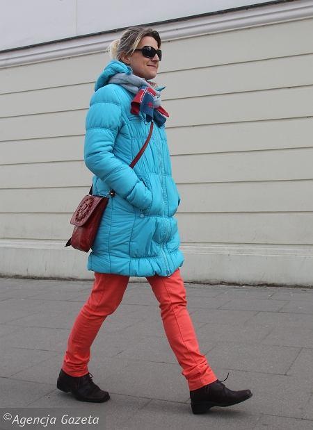 kurtka - Cropp Chillin, spodnie - Cropp Chillin, buty - vintage po mamie