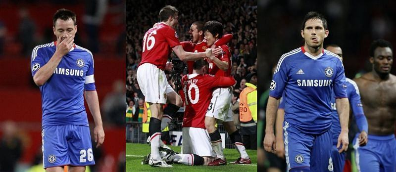 John Terry, Manchester United, Frank Lampard