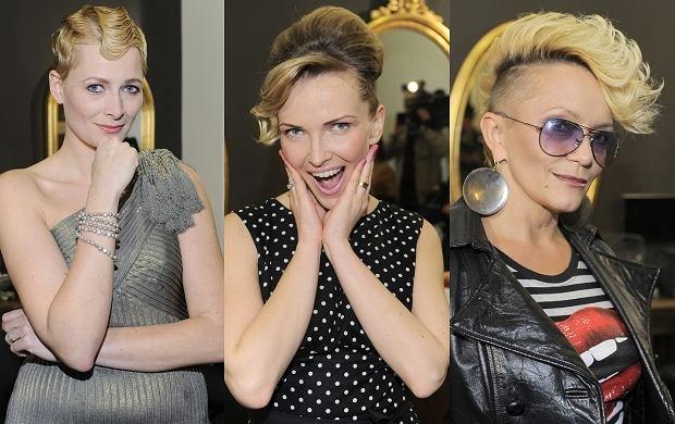 Katarzyna Laskowska, Małgorzata Ostrowska i Odeta Moro-Figurska przeszły fryzjerskie metamorfozy. Panie dały sobie zrobić fryzury stylizowane na Polę Negri.