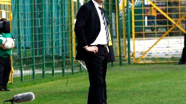 Trener GKS Wojciech Stawowy ma poparcie szefa Rady Nadzorczej