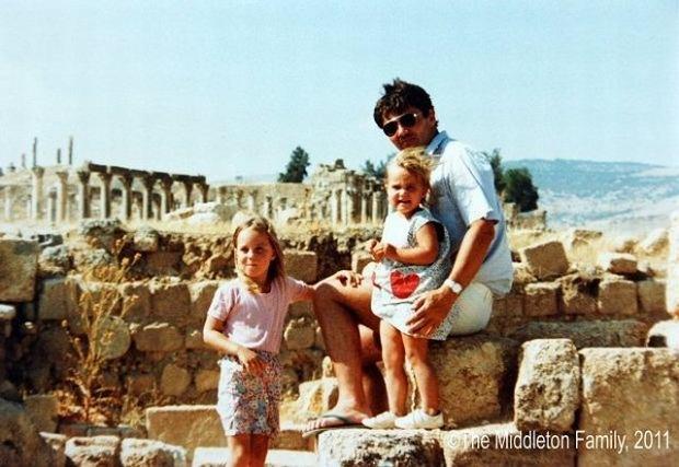 Kate Middleton w dzieciństwie