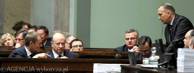 SLD złożył wniosek o odwołanie ministra finansów Jacka Rostowskiego