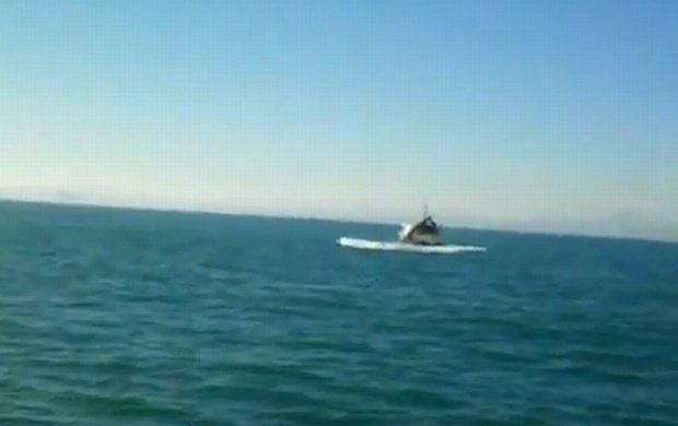 Atak wieloryba na jacht
