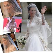 Suknia Kate Middleton od Aleksandra McQueena