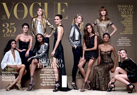 okładka Vogue Brazil maj 2010