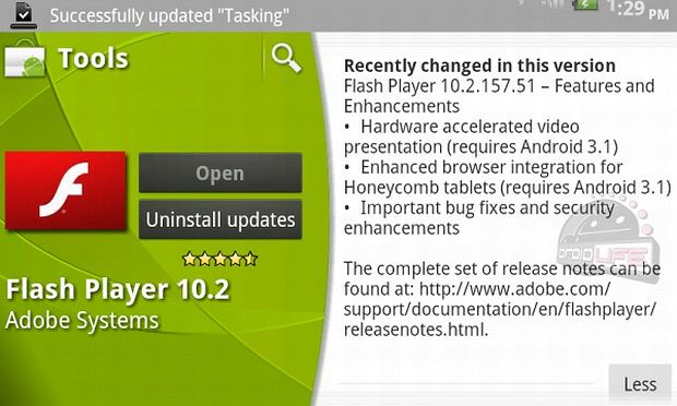 Android 3.1?