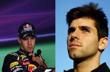 Sebastian Vettel vs Jaime Alguersuari