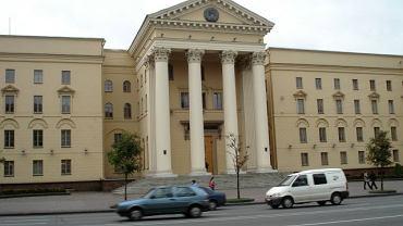Główna siedziba białoruskiego KGB w Mińsku