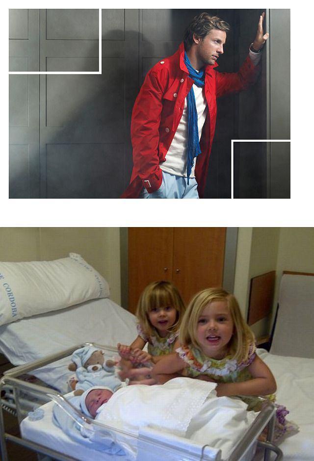 Jenson Button, dzieci Pepe Reiny