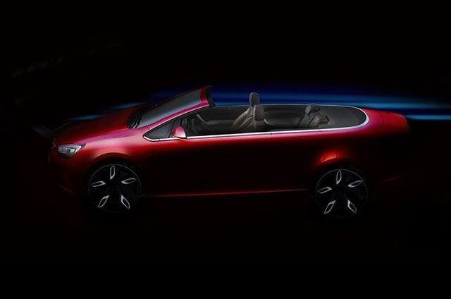 Opel Astra Cabrio - pierwsze zdjęcie
