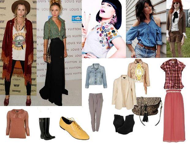 Jak ubrać się w stylu gwiazd? Blake Lively, Florence Welch, Jessie J, Gillian Zinser, Hanneli Mustaparta