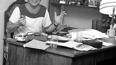 Styczeń 1980. Zebranie członków i współpracowników KSS KOR w mieszkaniu Jacka Kuronia na Żoliborzu
