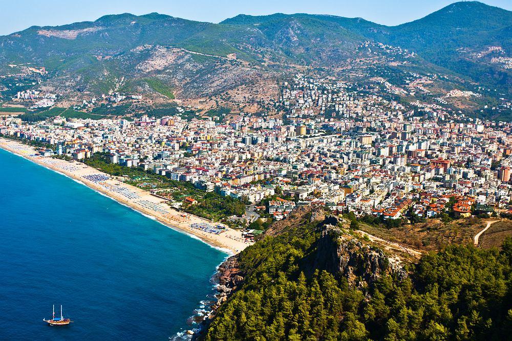 Turcja Alanya, Turcja plaże