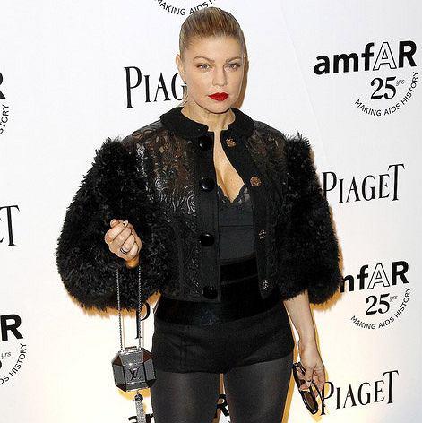 Fergie w Louis Vuitton