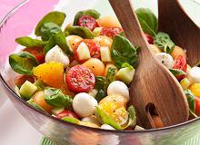 Sałatka z melonem i mozzarellą - ugotuj
