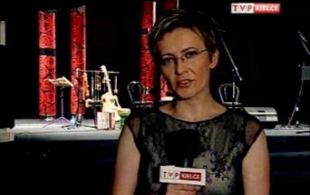 Agnieszka Rokita z TVP Kielce.