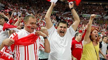 29 czerwca 2011. Kibice na meczu Polska-Brazylia. Wynik: 1:3