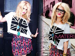 Kelly Osbourne promuje ubrania marki Madonny - Material Girl