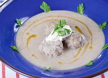 Zupa z razowego chleba z majerankiem - ugotuj