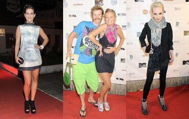 Na urodzinach MTV pojawiło się wielu celebrytów. Niektórzy przyszli, żeby zrobić to co potrafią najlepiej - szokować stylizacją. Inni po prostu wyglądali oryginalnie.