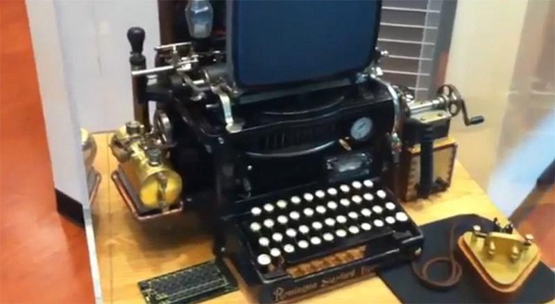 Połączenie Macintosha z maszyną do pisania