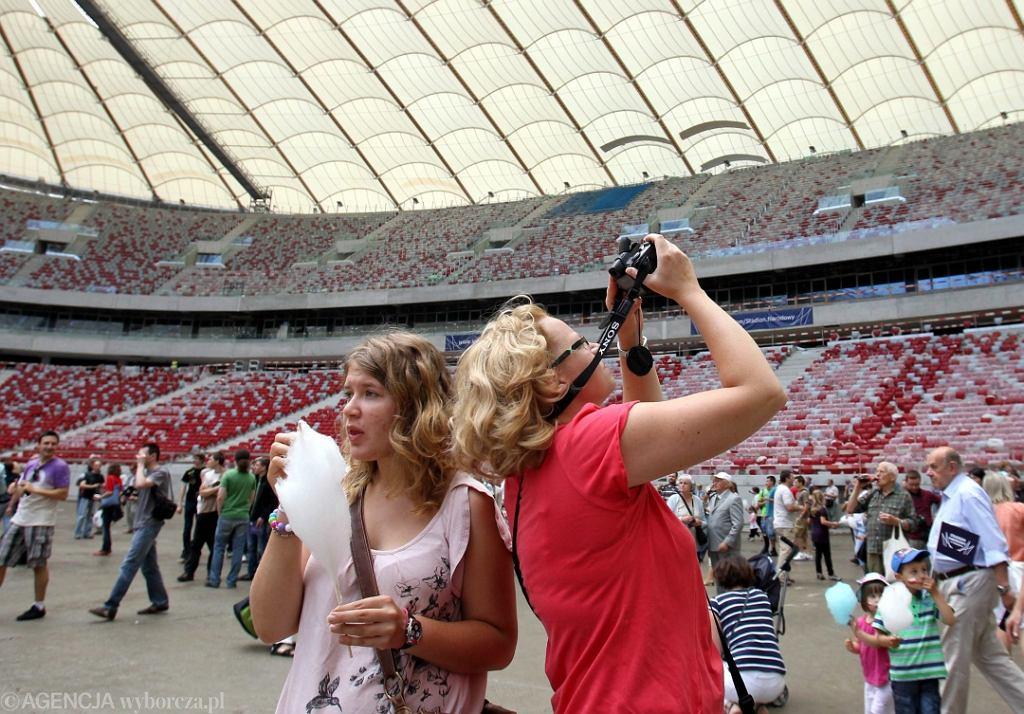 Dzień otwarty na stadionie Narodowym w Warszawie