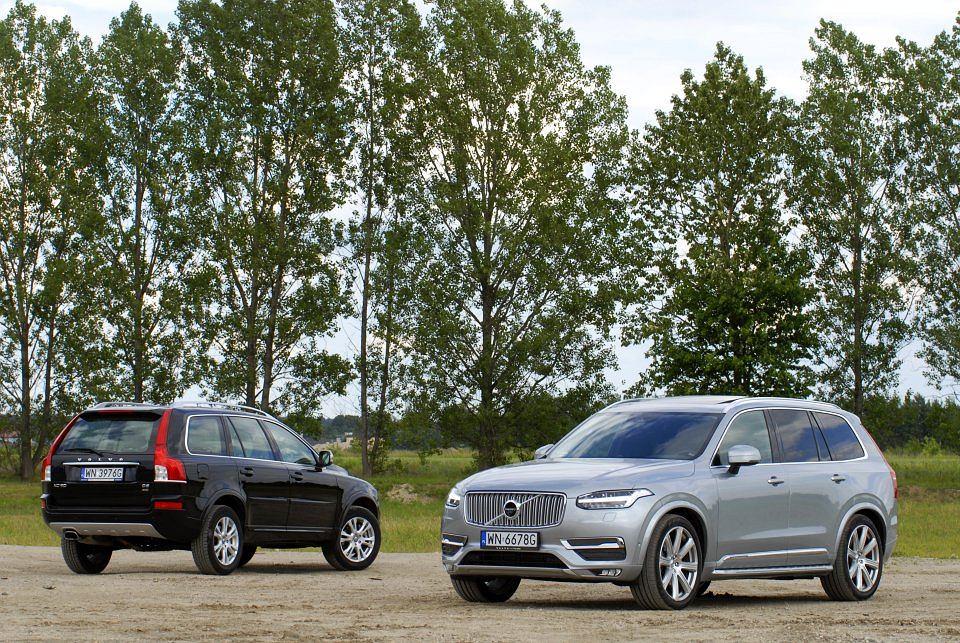 Volvo XC90 I i II