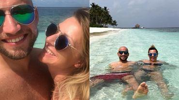 Magdalena Soszyńska na wakacjach z ukochanym