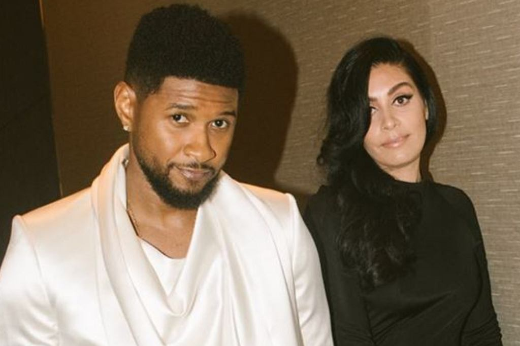 Usher i Jenn Goicoechea