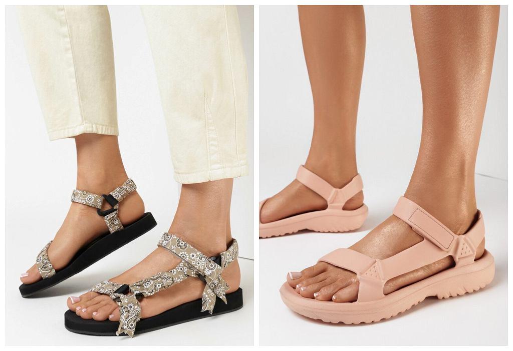 sportowe sandały