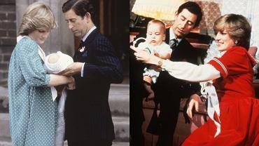 Książę William, Książę Karol, Księżna Diana.