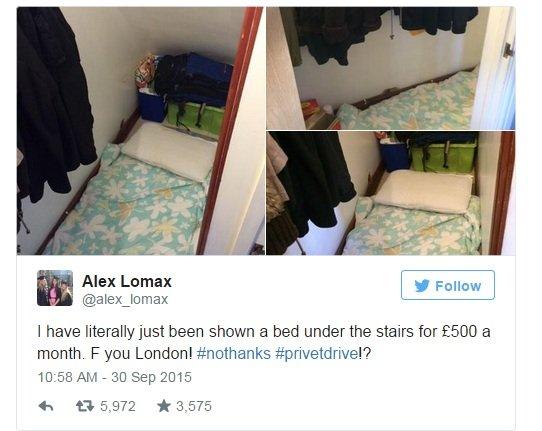 Wpis Alex z Twittera