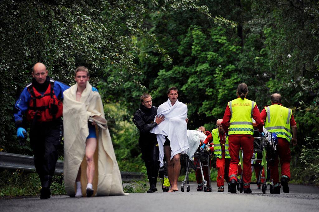 Akcja służb po masakrze na wyspie Utoya