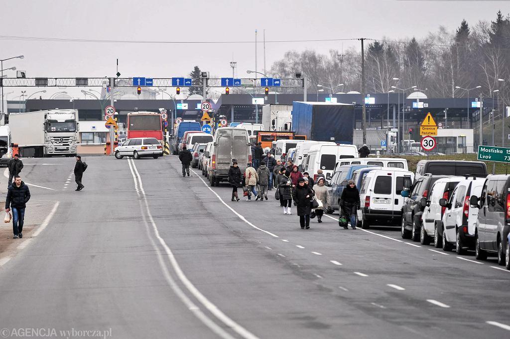 Granica polsko-ukraińska i przejście w Medyce