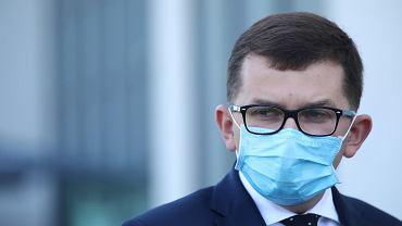 Wojewoda małopolski Łukasz Kmita