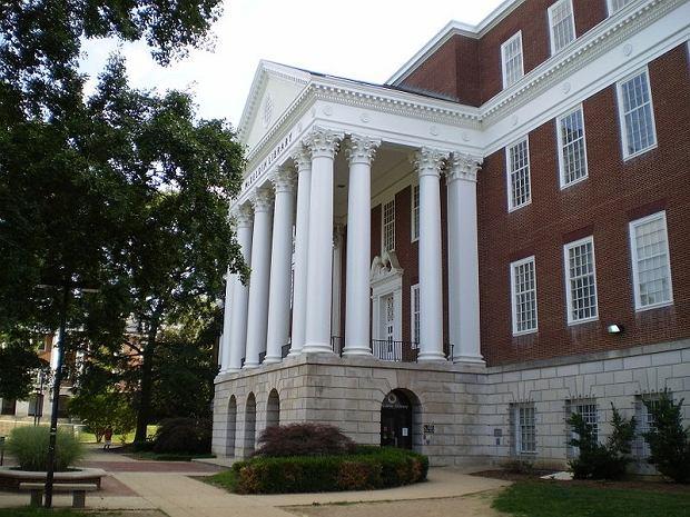 Jeden z budynków uniwersytetu w Maryland