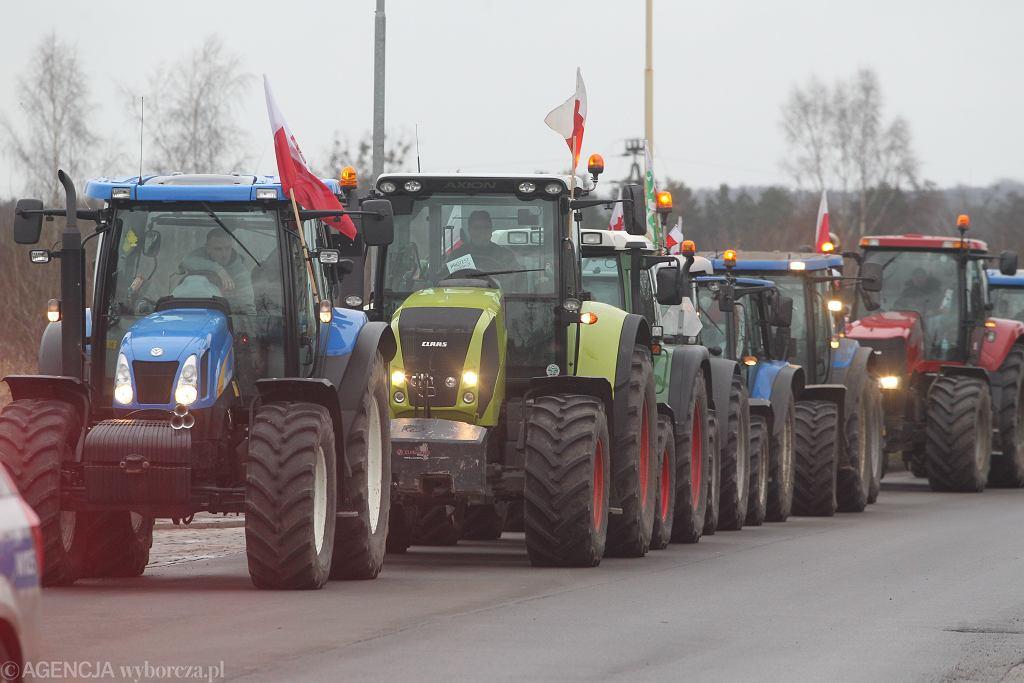 Rolnicy będą blokować drogi w całym kraju. To protest przeciwko 'piątce dla zwierząt' (zdjęcie ilustracyjne)